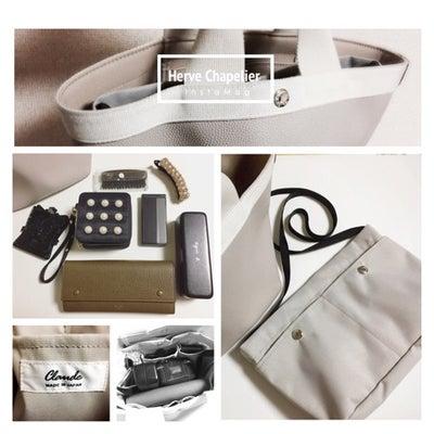 Herve Chapelier × バッグインバッグ の中身の記事に添付されている画像