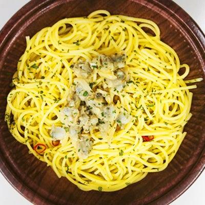 ファミマ 麺類 パスタ 『 ボンゴレスパゲティ 』 あさりが食べたくて購入♪の記事に添付されている画像