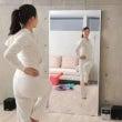 鏡で腰痛を防ぐ
