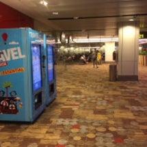 自動販売機(空港内)