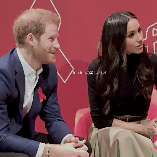 英国王室ハリー王子2017年12月2018年レイチェル妃(メーガン・マークル)婚約後初めての公務