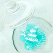 クリスマスの琥珀糖 …