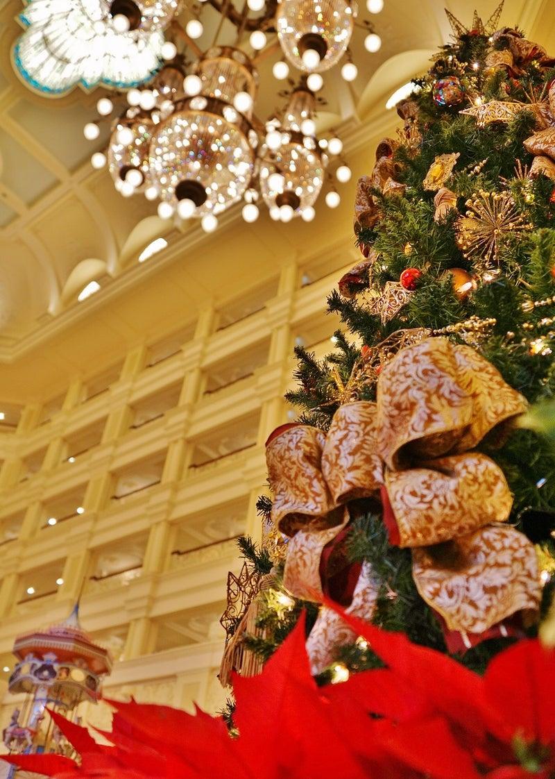 クリスマスツリーはランドホテルも注目ですね | ミキ衛門の disneydreamclub
