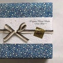 和紙で包む贈り物