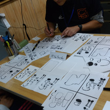 筆ペン教室