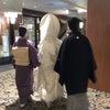 結婚式ヘアスタイル/披露宴/お色直しのポニーテールの画像
