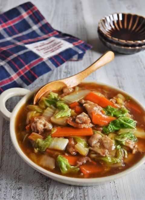 簡単 冬レシピ 豚バラと白菜のオイスターあんかけ ゆーママ 松本有