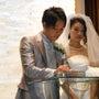 息子の結婚式と披露宴