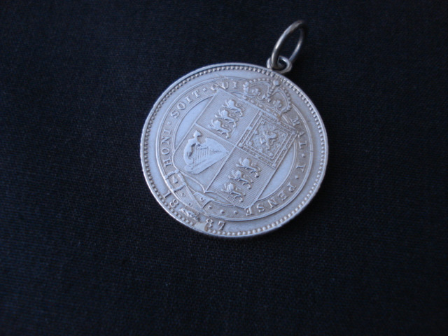 アンティーク 銀貨(英国 アンティーク シルバー 英吉利物屋)