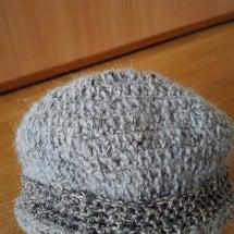 ニット帽を編みました
