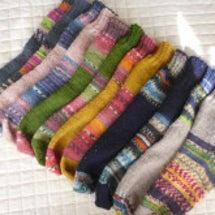 手編み靴下『409号…