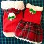 「クリスマス服をハン…