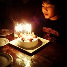 息子の11歳の誕生日