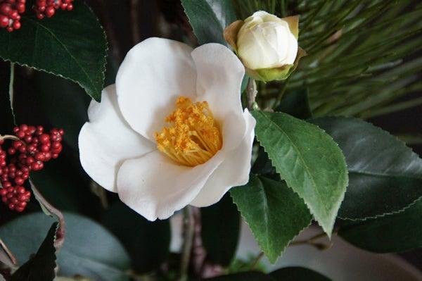 造花 正月飾り 松 縁起物 アートフラワー
