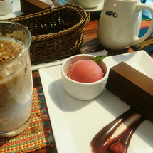 ヒロ珈琲でお茶♪
