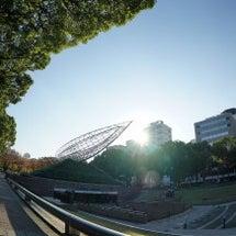 矢場町で太陽を撮って…