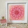クリスマスが近づくと赤やピンクなどに目がいきます。オーラソーマボトルはB71「蓮の花の中...の画像