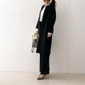 【coordinate】UNIQLOカシミヤセーターはXXLの大きめサイズに