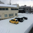 青森市は雪が凄いです…