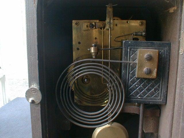 アンティーク ユンハンス 置時計(英国 アンティーク シルバー 英吉利物屋)