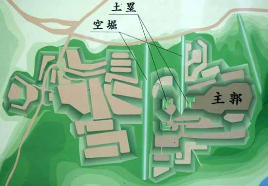 【写10】茶臼山城