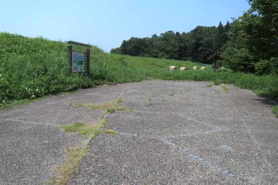 【写1】茶臼山城