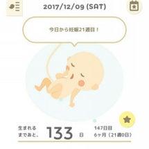 妊娠21w♡