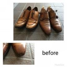 靴磨きのついでに・・…