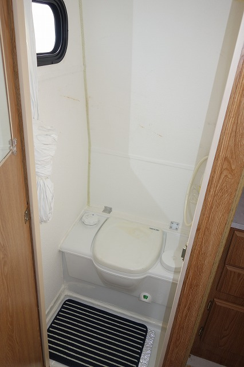 キャンピングトレーラー インディアナ TR-4 トイレ