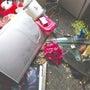 冷蔵庫が爆発…吹き飛…