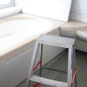 浴室の天井と窓の30分掃除。