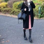 【coordinate】ブラック×ピンクの甘辛コーデ