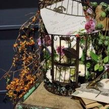 お花とカリグラフィー…