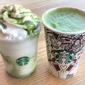 【スタバネタ】新作の抹茶感がスゴい!抹茶ホワイトモカ&抹茶ホワイトマーブルフラペチーノ