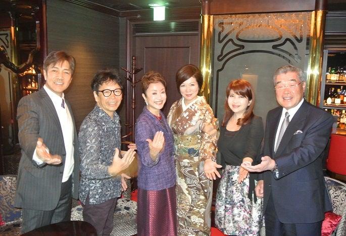 銀座レカン 野口五郎さん&南こうせつさん&南美希子さん&由美ママ&田原敦子さん&熊倉氏