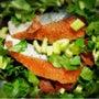 鮭の生クリーム焼き