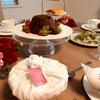 〈イギリス菓子〉クリスマスプディングを友人たちとの画像