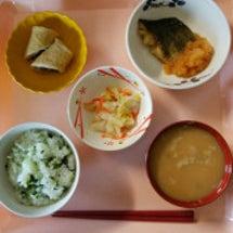 今日の昼食!