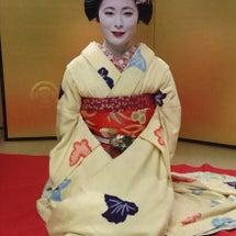 12月9日京舞観賞会…