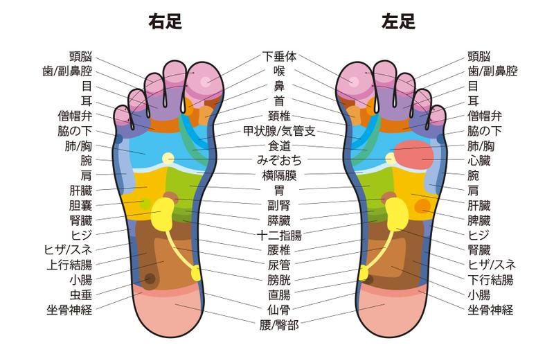 つぼ 腰痛 足