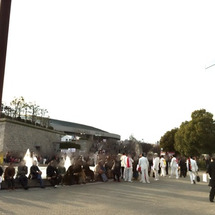 大阪城、散策