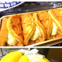 バナナとワッフル