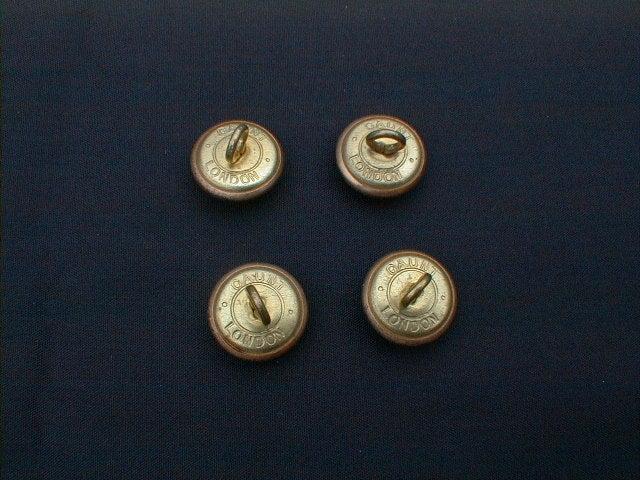 アンティーク 英国鉄道 ブラス ボタン(英国 アンティーク シルバー 英吉利物屋)
