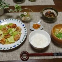 キャベツの味噌マヨガ…