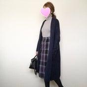 プチプラに見えないチェック柄スカート