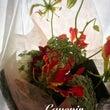 花束とデコレーション…