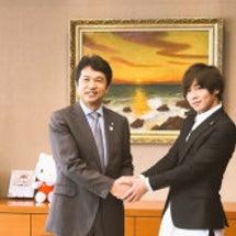 茨城県知事表敬訪問