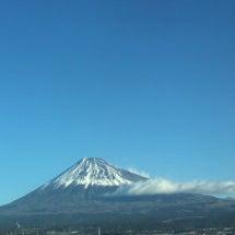 新幹線からみた富士山