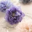 布の花、染め花のレッ…