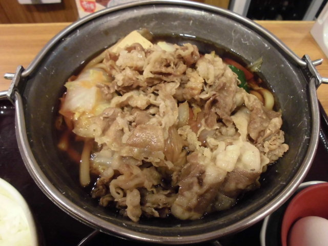 牛すき鍋1